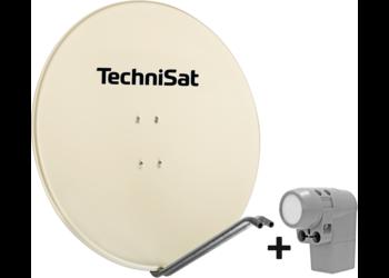 SATMAN 850 PLUS with UNYSAT-Quattro-Switch-LNB