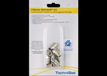 F-Stecker Self-Install™ Pack 4.9