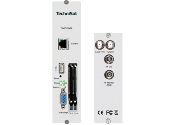 DVB-S2/PAL TM TWIN CI