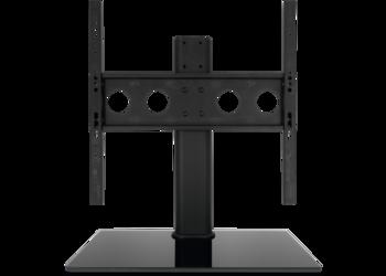 Universal TV-Tischfuß mit Glasboden 32 bis 55 Zoll